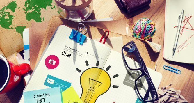Kreatywne zapisywanie pomysłów