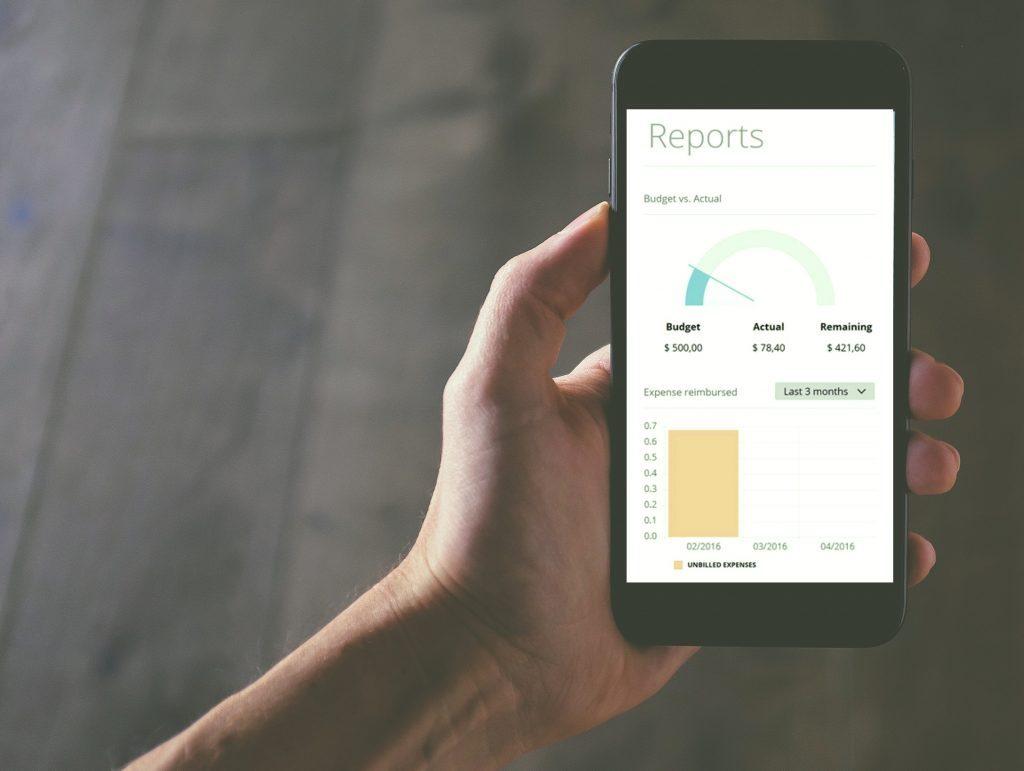 Aplikacja do raportów wydatków