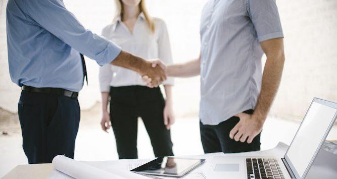 Partnerzy w biurze